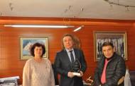 Кметът на Несебър с приз от СБУ за най-добър социален партньор за 2016 година