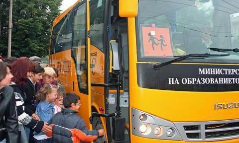 Няма констатирани нарушения по техническата изправност на училищните автобуси