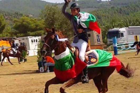 Шампионска титла при юношите от Балканиадата по конен спорт
