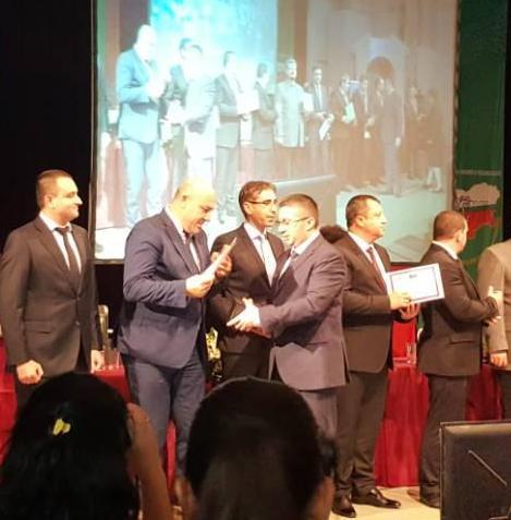 Кметът Иван Алексиев за трети път бе удостоен с Етикет за иновации и добро управление на местно ниво