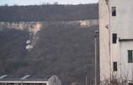 Скала се срути над Провадия, евакуираха хора