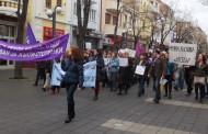 И в Бургас протестираха дейци на културата