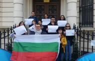 Българи от цял свят протестираха с великденски яйца срещу Изборния кодекс/снимки/
