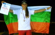 Стефани Музакова - републикански шампион и бронзов медалист