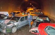 """Движението в тунел """"Витиня"""" е възстановено след тежката катастрофа"""
