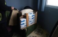 Митнически служители откриха нелегални цигари, тапицирани в диван