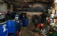 Натъпкали гараж в несебърско село с повече от 3,5 тона ракия