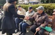 Младежите на ГЕРБ спазиха традицията и зарадваха бургазлии с мартенички