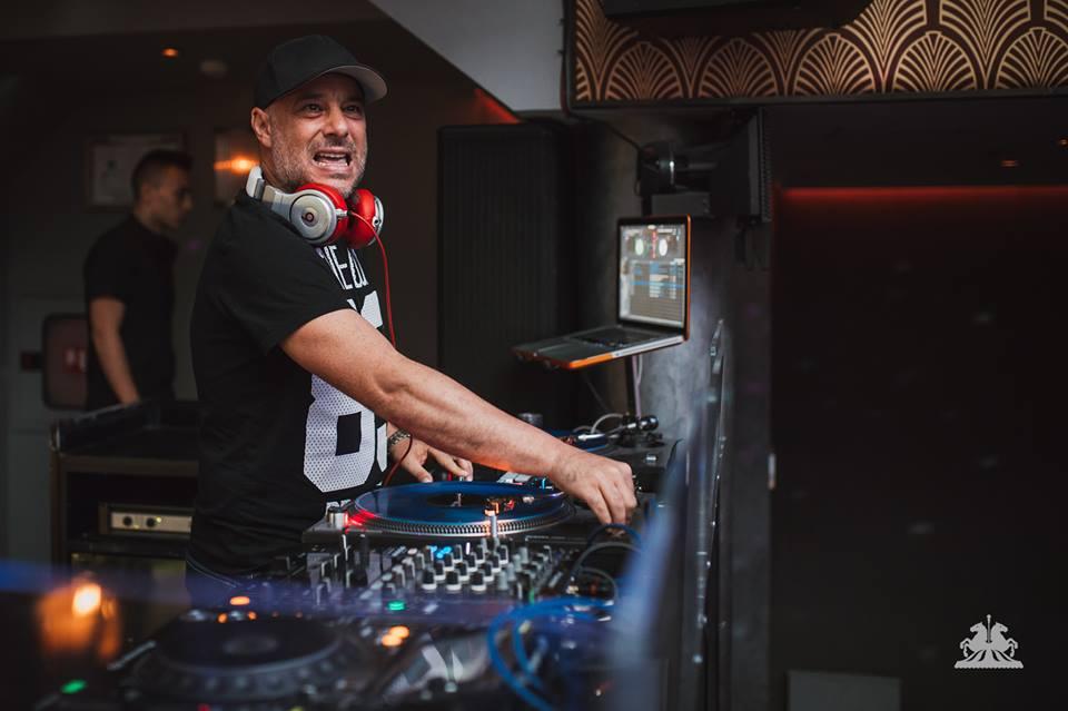 Арестуваният DJ Станчо след акцията в