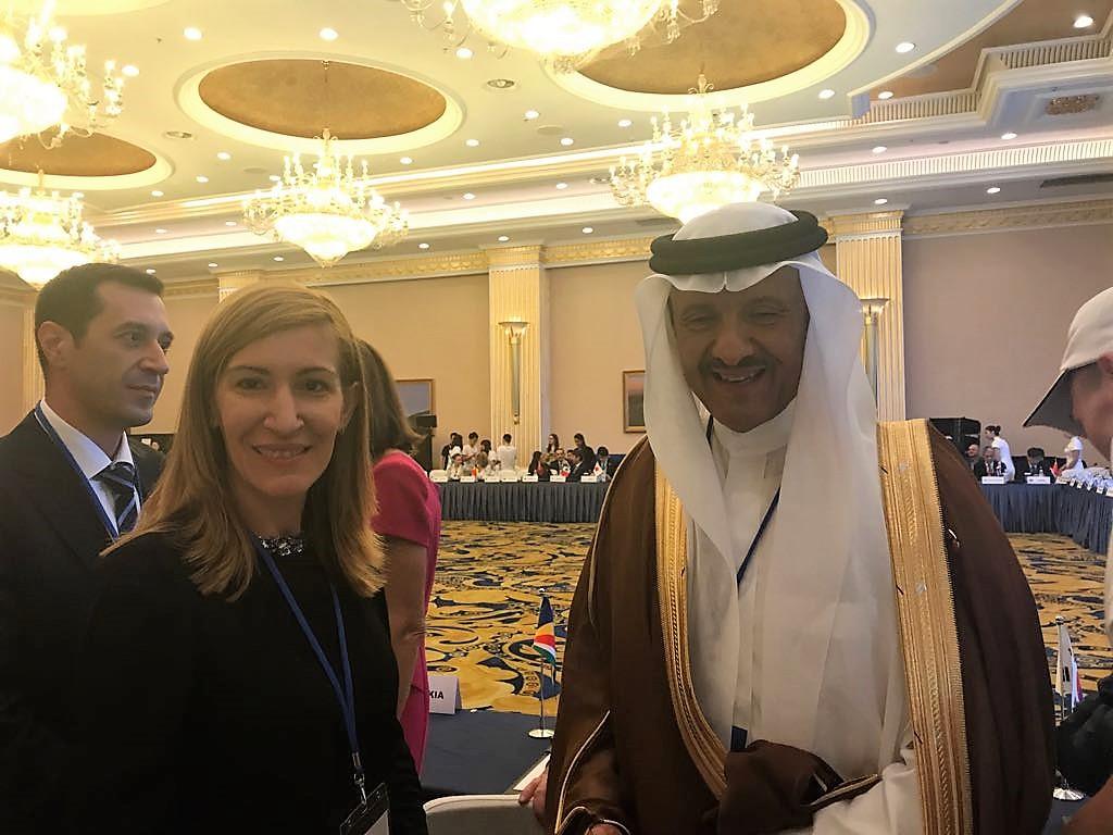 Министър Ангелкова се срещна с принца на Саудитска Арабия