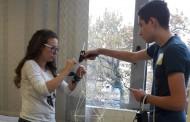 Бургаски ученици наградени за двуметрова кула от спагети