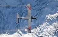 Французи с рискована каскада над Алпите (СНИМКИ/ВИДЕО)