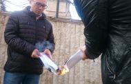 Ангел Джамбазки изгори копие на Ньойски договор