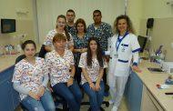 """Лаборатория """"ЛИНА"""" отвори врати за бъдещите медицински сестри от Университет """"Проф. д-р Асен Златаров"""""""