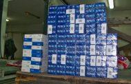 Митнически служители откриха контрабандни цигари в тайник на камион