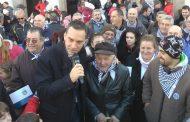 Столетник на общата снимка на имениците в Бургас  /видео/