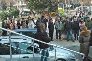 Протест пред Съдебната палата в Бургас, скриха шофьора, прегазил Евелин  /видео/