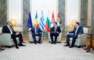 Започна срещата на Борисов с Ципрас, Тудосе и Вучич в Белград