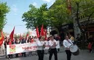 Първомайски митинг-шествие за справедливо заплащане на труда проведе БСП - Бургас