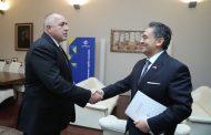 Премиерът Бойко Борисов се срещна с турския посланик Хасан Улусой