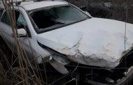 Кола се преобърна на пътя Добринище – Банско, четирима македонци пострадаха