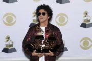 """Бруно Марс и Ед Шийран с триумф на наградите """"Грами"""
