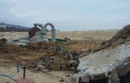 "Изринаха 1438 кв. м. бетон от плаж ""Слънчев бряг-север"""