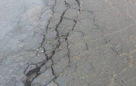 Част от пътя Царево - Малко Търново пропадна (СНИМКИ/ВИДЕО)