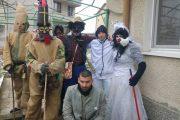 Кукерската група от кв. Крайморие получи нови обредни маски от ГЕРБ -  Бургас