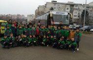 Седем отбора от школата на Нефтохимик заминаха на турнири и лагери