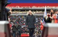 Путин започва четвърти мандат след категорична победа