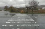 Мокри и хлъзгави са на места пътните настилки в областта