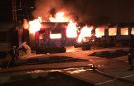 Пътниците от горящия влак:  Огънят беше много силен, два вагона изгоряха като факли /видео/