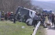10 загинаха в тежка катастрофа при Вакарел, автобусът  е тръгнал тази сутрин от Бургас