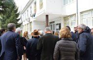 """От """"Америка за България"""" разгледаха кампуса на новата бургаска гимназия (СНИМКИ)"""