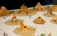"""Показват на """"Флората"""" триизмерен макет на миналогодишния пясъчен фестивал"""