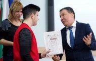 В Несебър наградиха лауреатите от конкурс за есе по проект, свързан с българското европредседателство