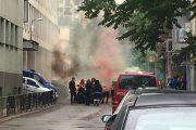 Абитуриенти метнаха димки пред полицията
