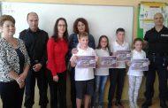 Наградиха призьорите от Националното състезание на детските полицейски управления