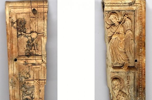 Излагат иконата от слонова кост, която беше открита край Русокастро