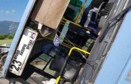Автобус с деца катастрофира, девет ранени