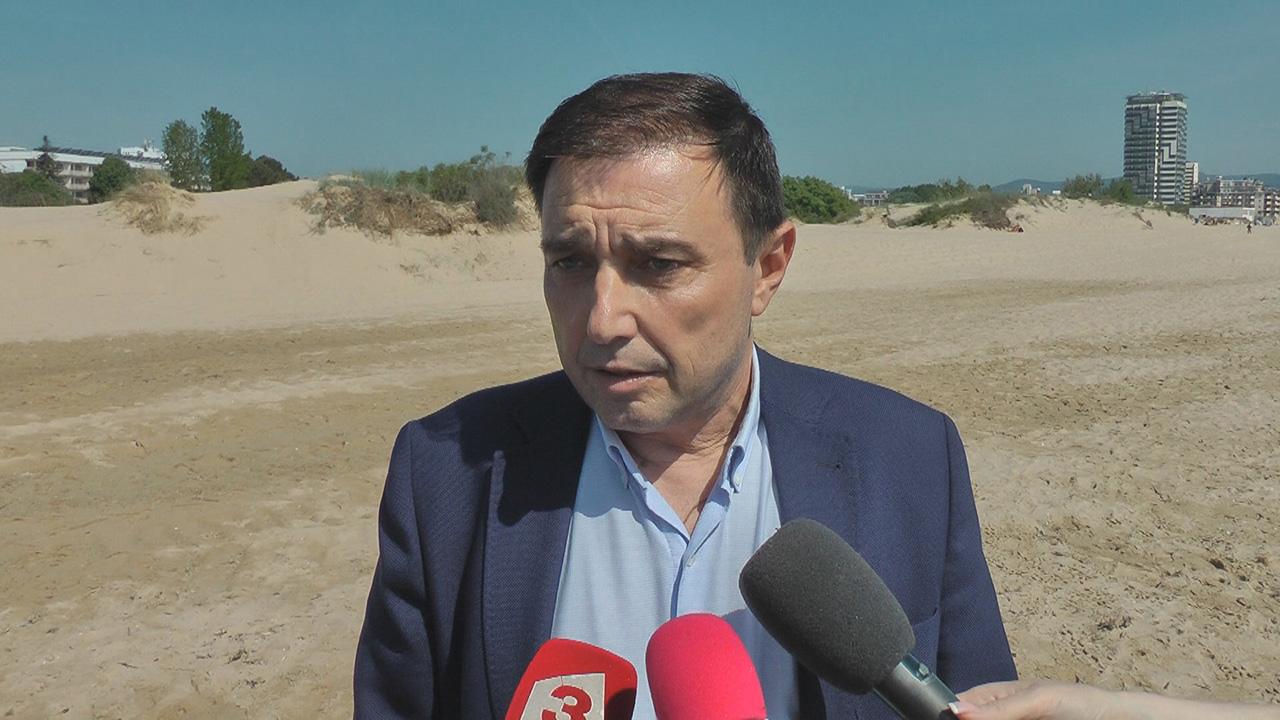 Златко Димитров: 400 камери осигуряват спокойствието на туристите в Слънчев бряг