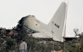 Стотици загинаха при самолетна катастрофа в Алжир