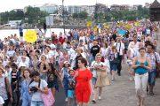 2000 деца от 8 държави показаха красотата на изкуството на фестивал в града на ЮНЕСКО
