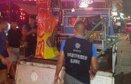 """Данъчните """"арестуваха"""" работещи на черно съоръжения по централната алея на комплекса"""