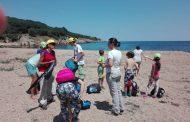 Природолюбители от детски лагер посетиха резерват Ропотамо