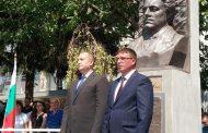 Президентът откри паметник на Левски в Руен