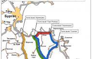 Монтират пасарелката до Атия, пътят ще е затворен