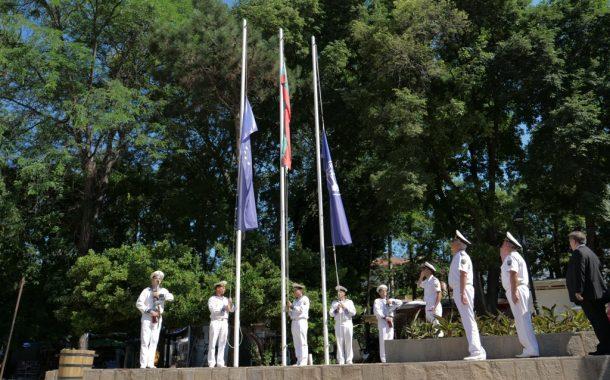 Военните моряци участваха в тържественото отбелязване празника на град Созопол