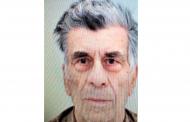 Полицията издирва 87-годишния Ефтим Попов